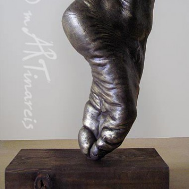 Ballet dancer - Foot, bronze finish