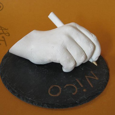 I can write - A hand - cast for enrollment