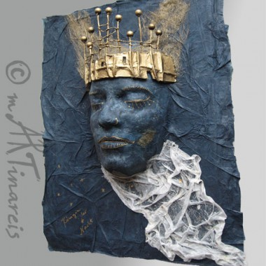 `Queen of the night` papier mache