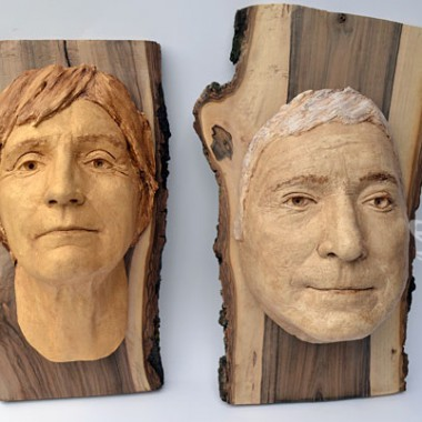 old couple - face cast