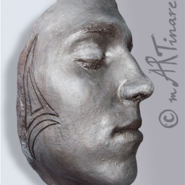 -Mirko- face cast of a young man