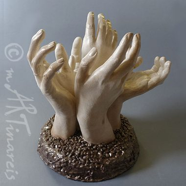 ´Family tree´- hands life casting